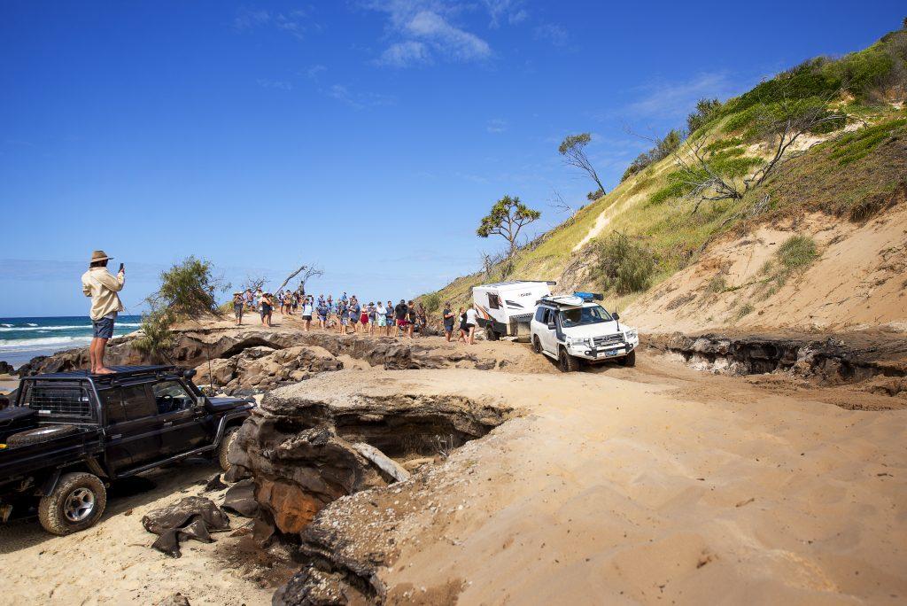 Vision Hybrid Explores Fraser Island Vision RV